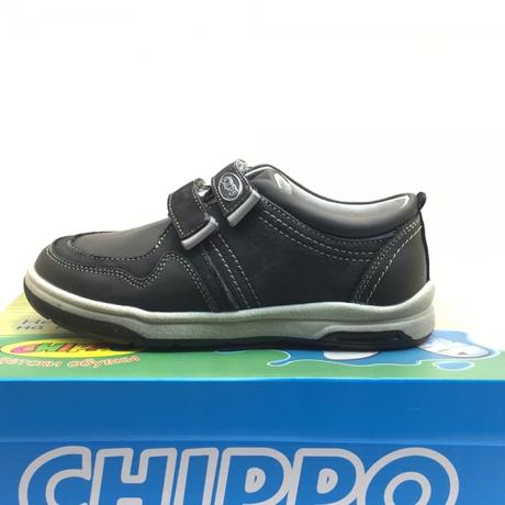 882243aec54 Детски обувки CHIPPO естествена кожа черно 31/36